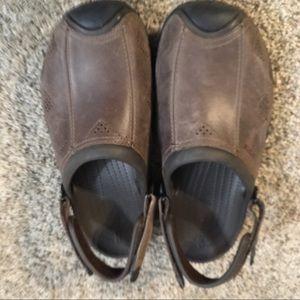 Crocs Brown Size 10 EUC